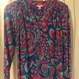 Lilly Pulitzer top, size small